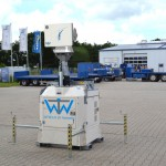 WTW-L/S 20 on a hydraulic Tower (8m) and Power Generator