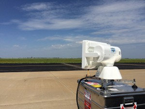 Our WTW-LS 20 at customer base during a flight test in U.S.A.