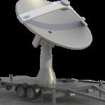 WTW-LS 33Trailer Dish Antenna