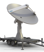 WTW-LS 33Trailer Autotracking Antenna