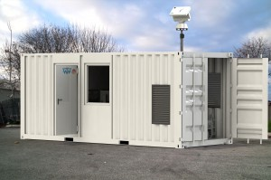 Telemetry Station 20ft Container