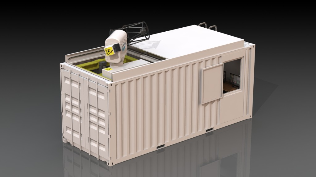 Mobile Laser Ranging System (20ft Container)